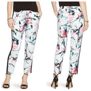 White House Black Market Floral Harem Pants